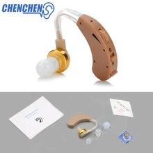 Усилитель звука для ушей, регулируемое громкость, слуховой аппарат за ухом, усиленный звук голоса для потери слуха, уход за ушами для пожилых людей