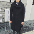 2017 winter, double coat lapel Retro Vintage men W868 P120