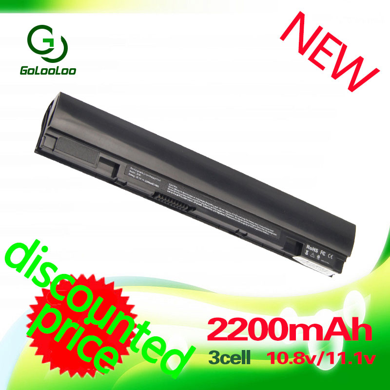 Golooloo <font><b>2200MaH</b></font> 11.1V 3 CELLs Laptop BLACK <font><b>Battery</b></font> for ASUS Eee PC X101 X101H X101C X101CH A31-X101 A32-X101 image
