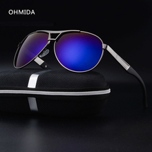 OHMIDA New Fashion Men's UV400 Polarized Coating Sunglasses