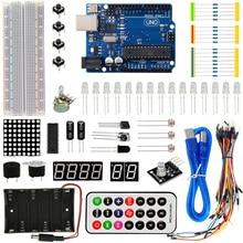 Kit de iniciación básico KEYES UNO R3 kit de aprendizaje para arduino