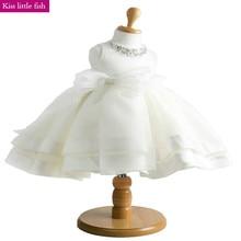 Высокое качество Кружево цветок платья для девочек для свадьбы для маленьких девочек элегантное платье От 2 до 12 лет