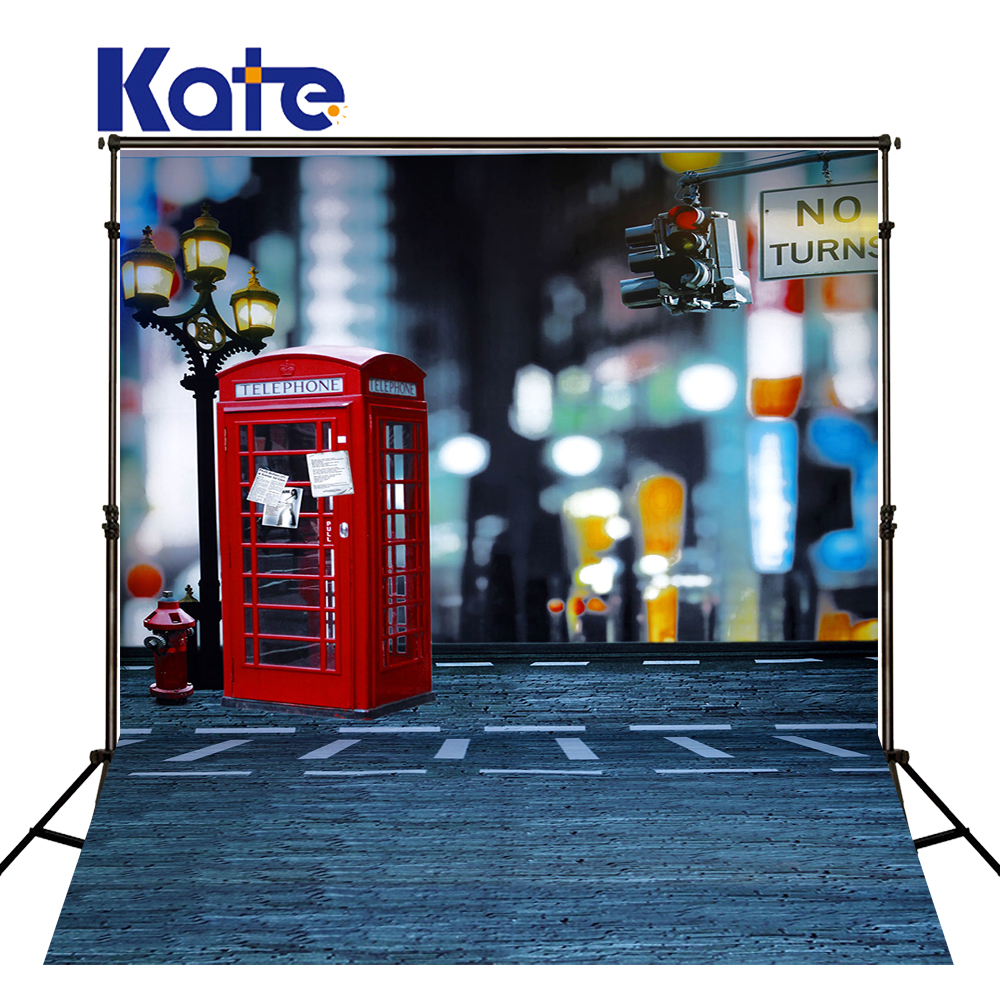 300Cm*200Cm(About 10Ft*6.5Ft) Backgroundsnight Market Booth Traffic Lights Photography Thick Cloth Photography Backdrop 3552 Lk
