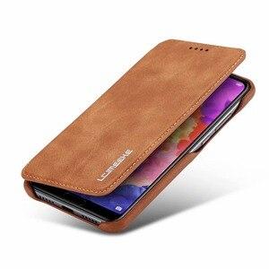 Image 3 - Flip Case For Hawei P20 P30 P40 Pro Lite Nova 3e 4e 6se 7i Capa Fundas Etui Luxury Leather Phone Cover shell Coque carcasas