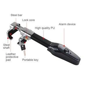 Image 3 - Mikro titreşim kontrol Buzzer Alarm sesi araba Van direksiyon kilidi güvenlik kelepçesi Anti hırsızlık güvenlik ağır hizmet tipi