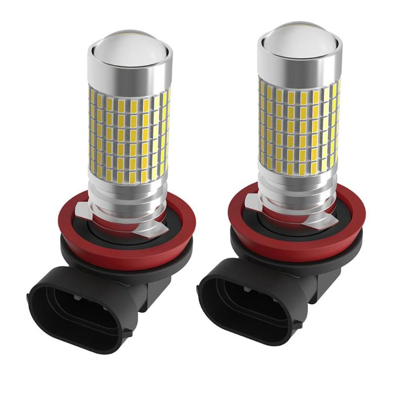 2PC 12V 24V 6000K H8 LED Fog Light Bulbs 9005 HB3 HB4 9006 LED Car Tail Fog Lights Daytime Running Lights Auto DRL Driving Lamp 2pcs 12v 24v h8 h11 led hb4 9006 hb3 9005 fog lights bulb 1200lm 6000k white car driving daytime running lamp auto leds light