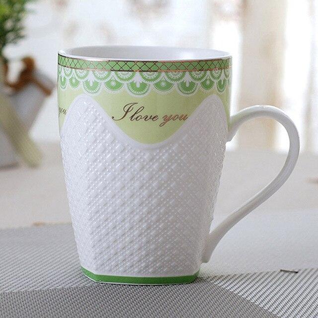 c055adb4805 YEFINE Ceramics Chinese Porcelain Water Cup And Mug High-grade Bone China  Tea Mugs Creative