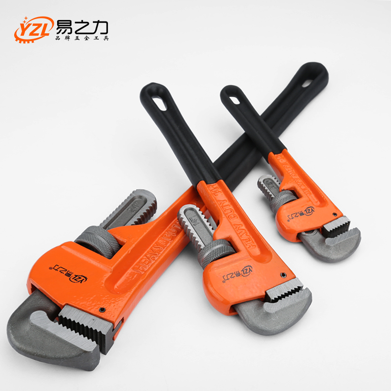 8/10/121418 Heavy Duty Quick Pipe Wrenches Large Opening Universal Adjustable Water Pipe Clamp Pliers Hand Tools for Plumber 450mm heavy duty quick pipe wrench universal high carbon steel adjustable wrenches multi function monkey spanner hand tools
