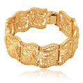Bracelet For Women Men Fashion Jewelry Wholesale Gold Plated Vintage Bangle Scroll Leaves Wrap Cuff Bracelets H5195