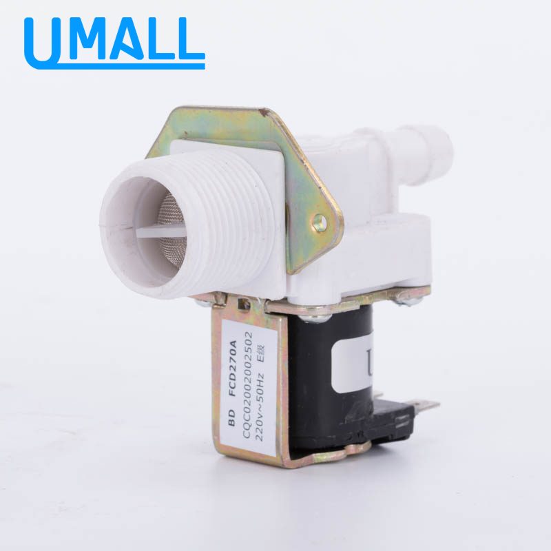 Washing machine inlet valve JSF1 FCD270A 220v fcd270a quality washing machine parts single solenoid valve 38mm