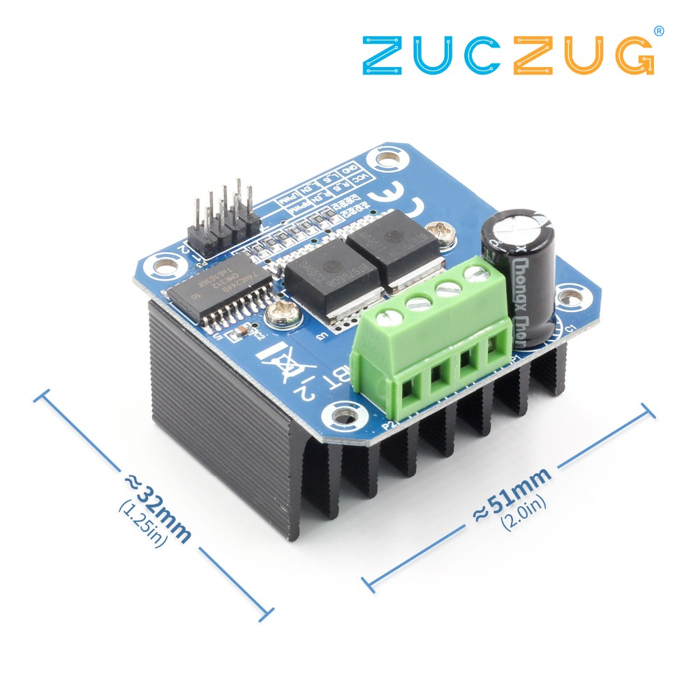 Double BTS7960 43A H-bridge High-power Motor Driver module/ diy smart car Current diagnosticDouble BTS7960 43A H-bridge High-power Motor Driver module/ diy smart car Current diagnostic
