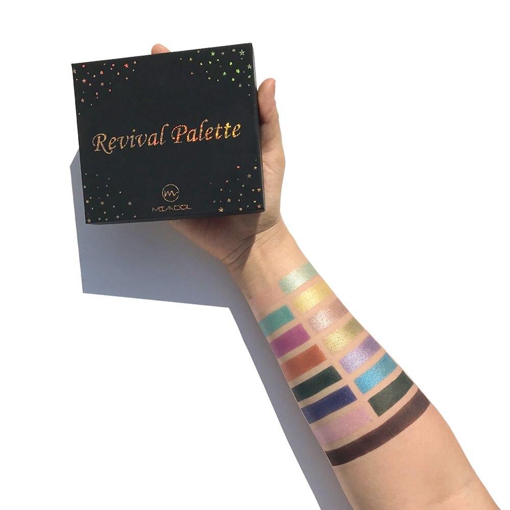 15 Colors Matte Somky Eyeshadow Palette Cosmetic Makeup Eyeshadow Palettes Waterproof Eye Shadow Pigment Cosmetics Eyeshadow Set in Eye Shadow from Beauty Health