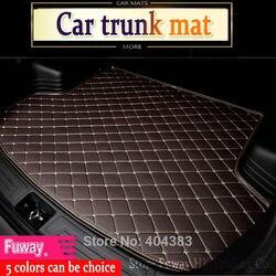 Tapis de coffre de voiture sur mesure pour Peugeot 206 207 2008 301 307 308sw 3008 408 4008 508 rcz plateau de style de voiture tapis cargo liner