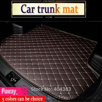 custom fit car trunk mat for Peugeot 206 207 2008 301 307 308sw 3008 408 4008 508 rcz car styling tray carpet cargo liner