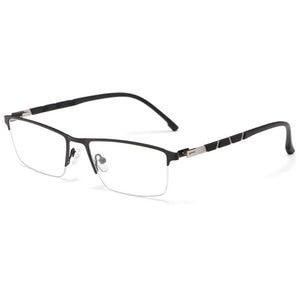 Image 2 - 비즈니스 안경 고품질 알루미늄 마그네슘 남자 여자 일반 광학 안경 거울 안경 안경