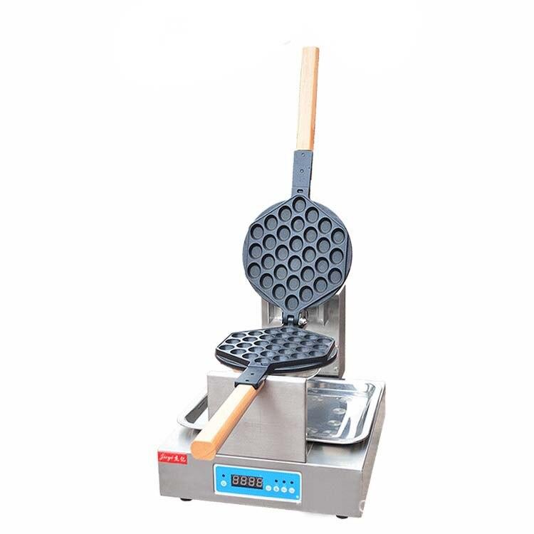 Novo Design Digital Eggette Waffle Padeiro Waffle Maker Machine _ Bolha Popular com exibição Digial