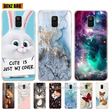 soft Silicone Case For Samsung Galaxy A6 2018 Dual SIM SM A600 A600F Soft Tpu Back Cover For Samsung A6 Plus 2018 A605 A605F