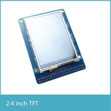 2.4 cal kolorowy ekran TFT o przekątnej z ekranem dotykowym IC z interfejs karty SD dla FPGA rozwoju pokładzie