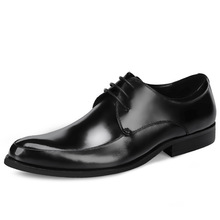 QYFCIOUFU 2019 New Quality Cow Leather Men Shoes Soft Man Dress Shoes Genuine Leather Pointed Toe Luxury Designer Shoes US 11.5