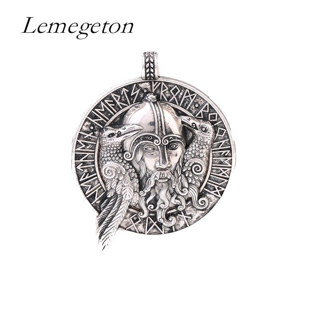 Lemegeton The God Of The Aesir Odin Two Crows Symbol Of Thought And