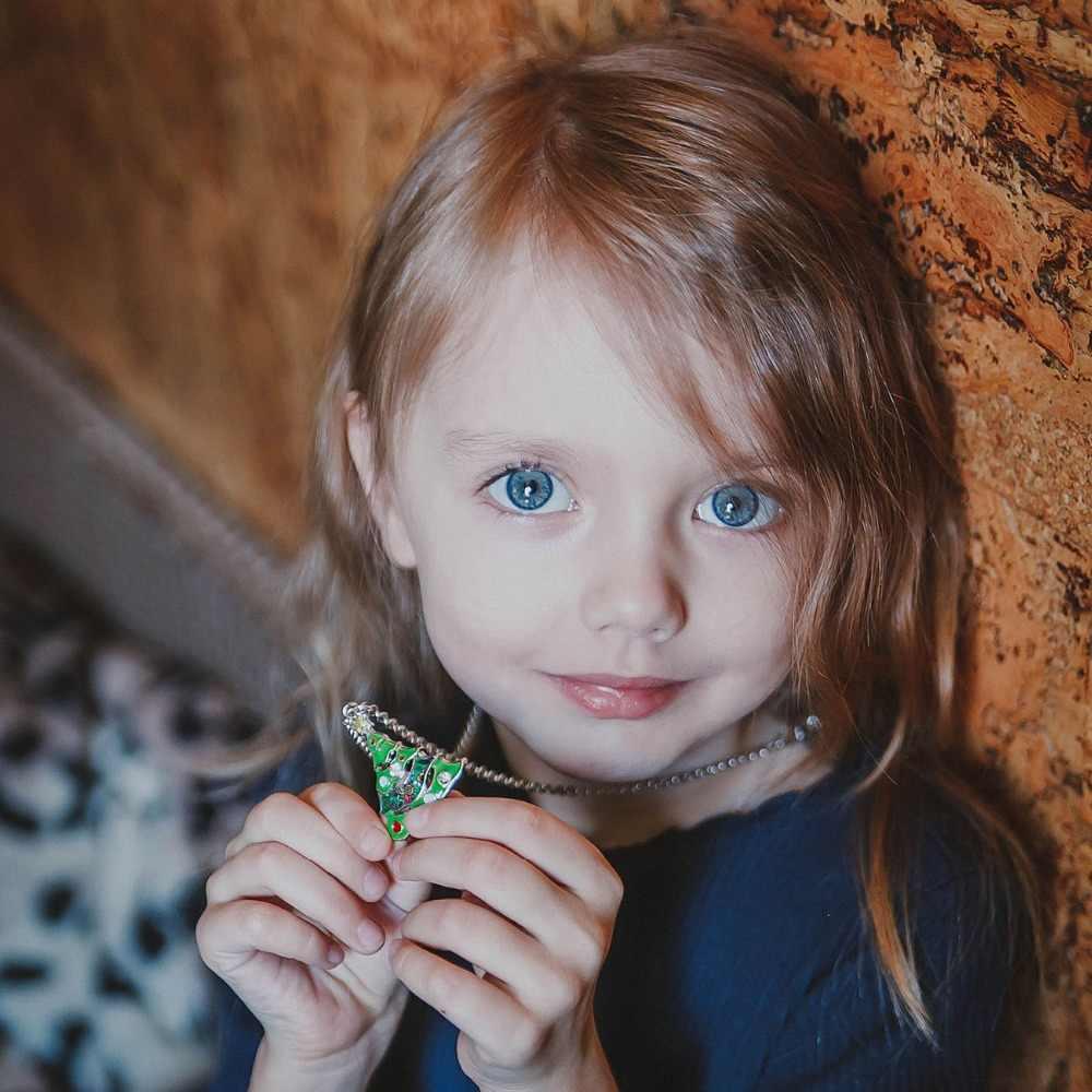 Bonsny Enamel Alloy Rhinestone Christmas Tree Star Necklace Pendant Chain Collar Xmas Navidad Gift Jewelry For Women Girls Kids