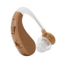 Мини-размер Уха Назад Тип невидимый слуховой аппарат Регулируемый беспроводной слуховые аппараты усилитель звука