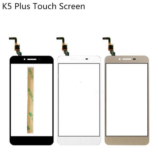Vecmnoday 2pcs Touch Screen For Lenovo Vibe K5 Plus A6020 A6020a40 A6020a46 K5 Touchscreen Sensor Digitizer + 3M Glue