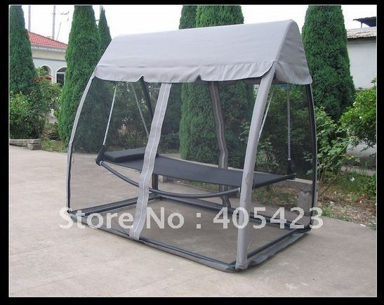 High Quality Outdoor Gardening Mosquito Net Hammock Garden Leisure Furniture Siesta Bed Hammocks