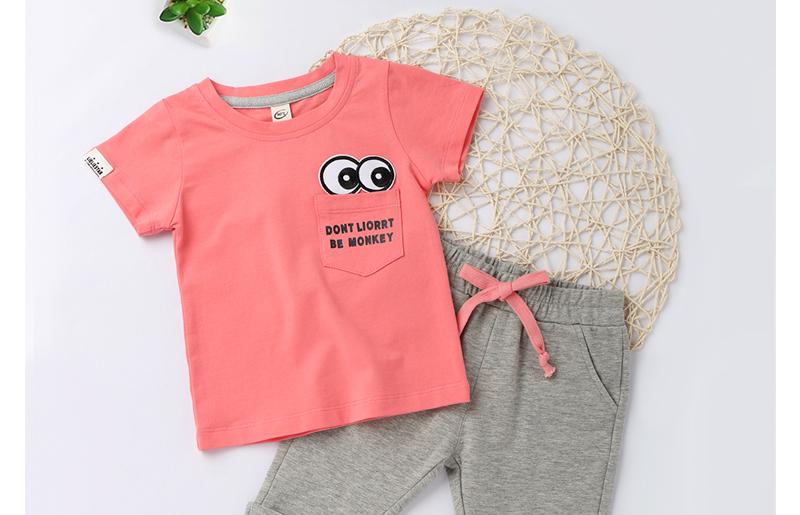 4d51d991f760 tracksuit 2pcs girls summer clothes set toddler baby clothing sets kids ...