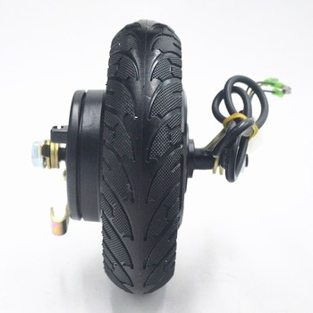 Electric Scooter Brushless Motor Scooter Hub Motor Wheel MOTOR Fit 24V 36V 48V 350W Electrice Scooter/Mini SCOOTER  8inch Wheel
