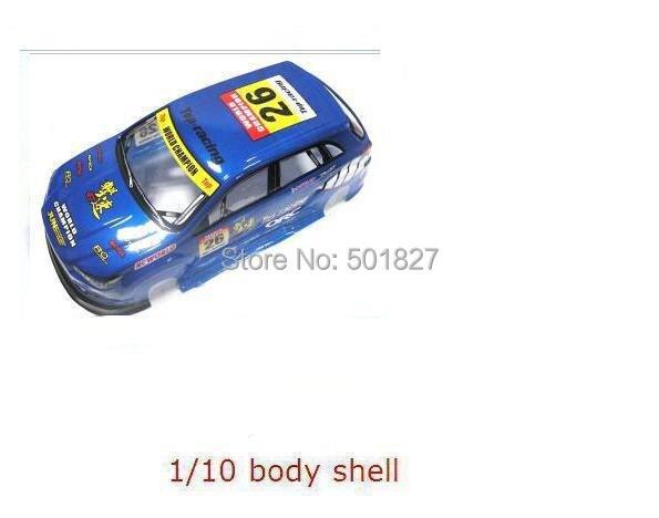 039 blue 1/10 RC car body shell for 1:10 rc car 190mm 2pcs/lot free shipping