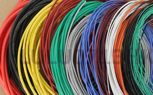 AWG Flexible Silicone Wire RC Cable 22AWG 60/0.08TS Outer Diameter 1.7mm With 10 Colors to Select EQ 1:1 quality 1meter red 1meter black color silicon wire 10awg 12awg 14awg 16 awg flexible silicone wire for rc lipo battery connect cable