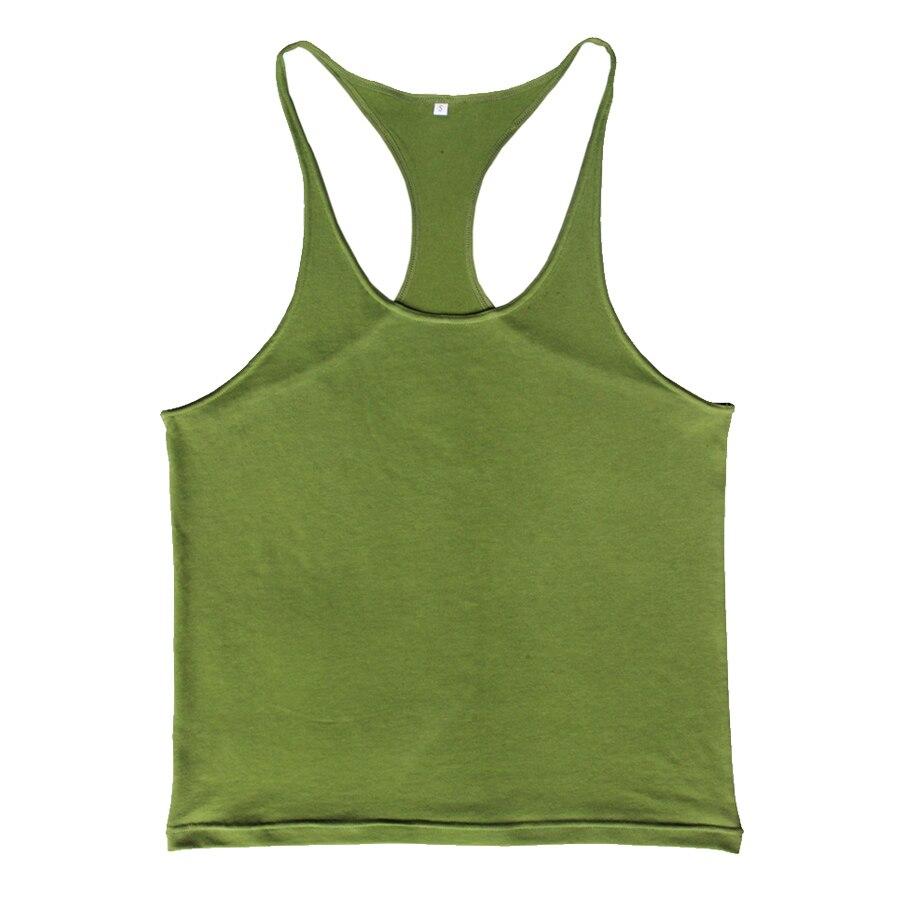 445df9b26c Custom Tank Top Men Singlet Muscle Shirt Fitness Sleeveless Vest  Bodybuilding Clothing Stringer Workout Regata Musculation-in Tank Tops from Men's  Clothing ...