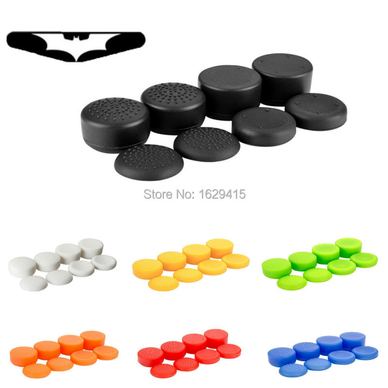 IVYUEEN 9 In 1 Silicone Analog Stick Thumb Sticks Grips For Playstation 4 PS4 Pro Slim Controller Cap Cover For XBox 360 ONE