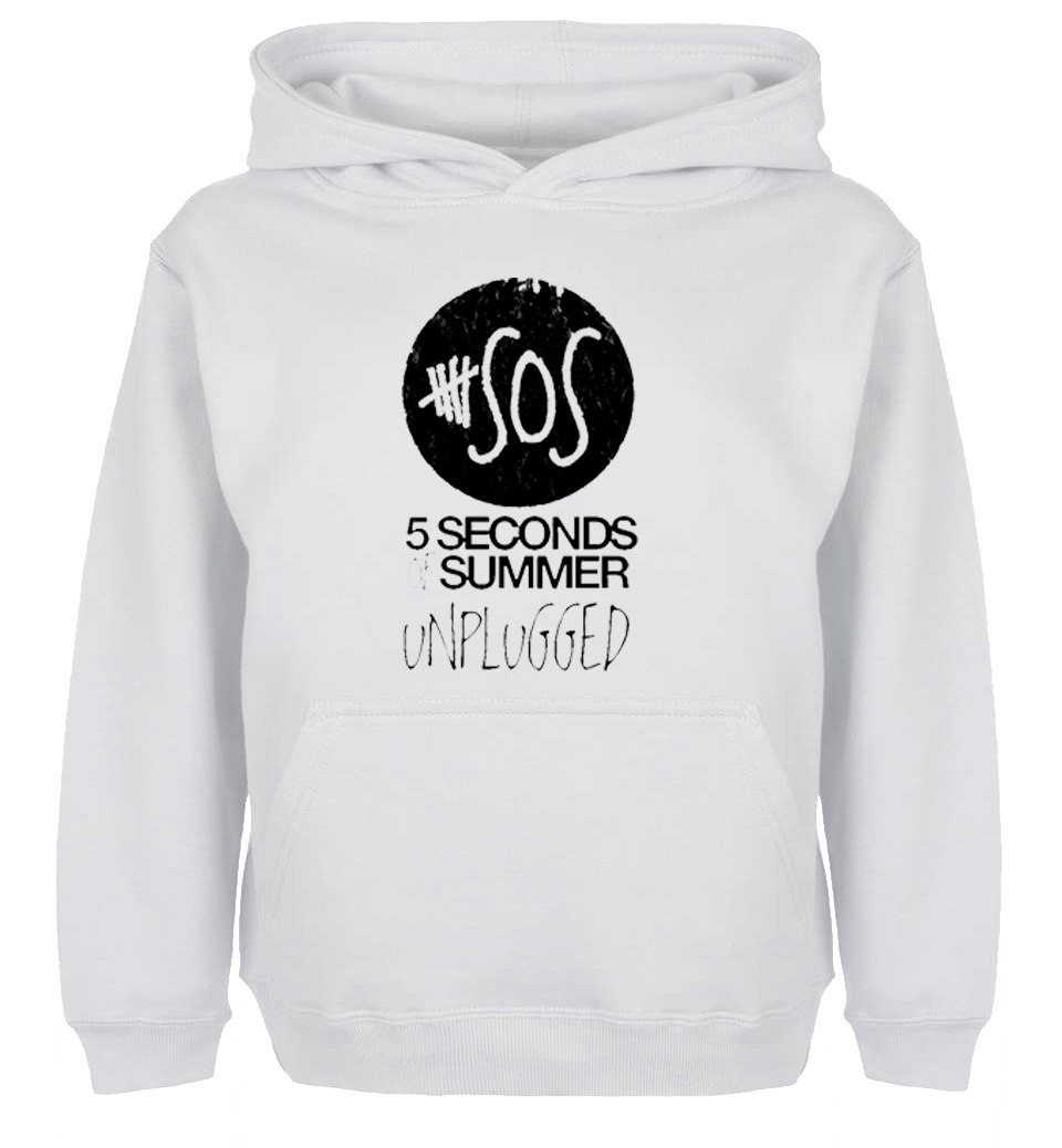Unisex Sweatshirts For Boy Men Long Sleeves 5SOS 5 Seconds Of Summer Unplugged Design Spring Autumn Winter Casual Hoodies