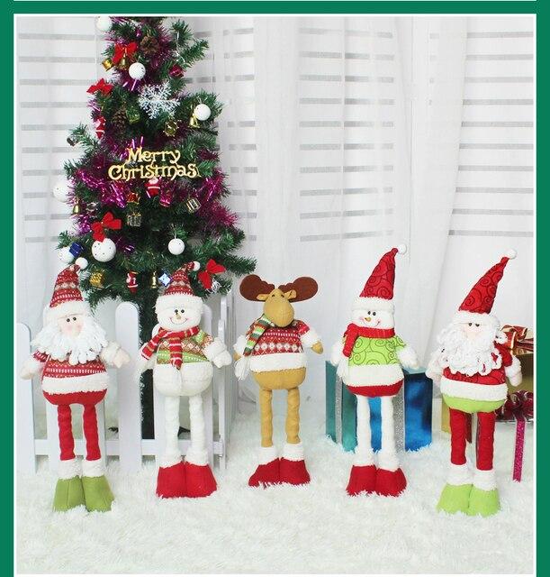 Capodanno A Casa Di Babbo Natale.Decorazioni Per La Casa Capodanno Babbo Natale Pupazzo Di Neve