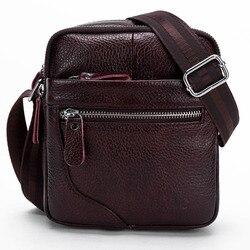 Мужские сумки из натуральной кожи, слинг через плечо, дорожный мессенджер, деловая сумка на ремне