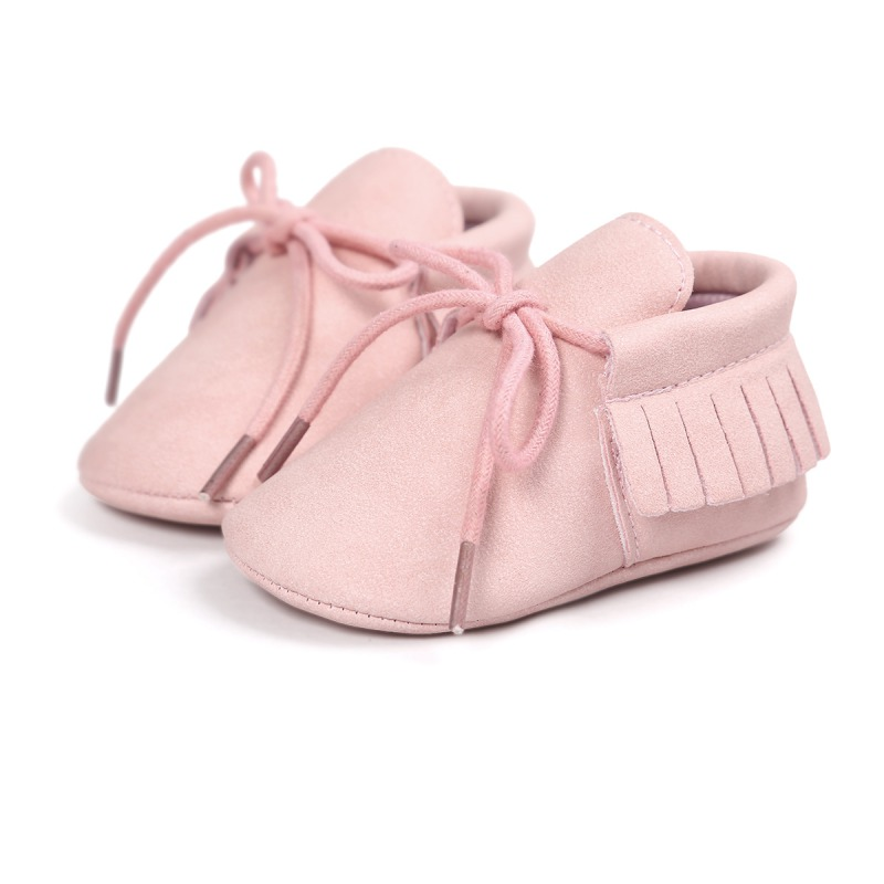 Hot Newborn Baby Girl Boy Classic Leisure PU Leather First Walkers Kids Crib Infant Babe Star Pattern Hsome Retro Shoes New