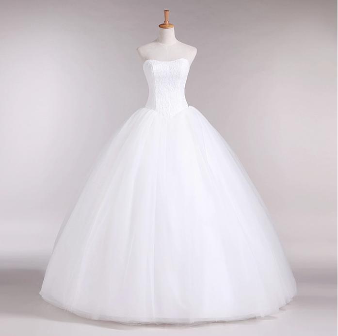 Gratis verzending 2013 nieuwe collectie Mansi bruids trouwjurk, - Trouwjurken - Foto 3