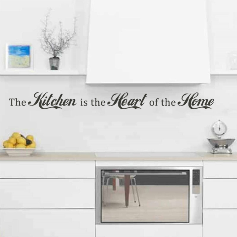 Aliexpress.com : Buy Kitchen Quote Kitchen is the heart of the home ...