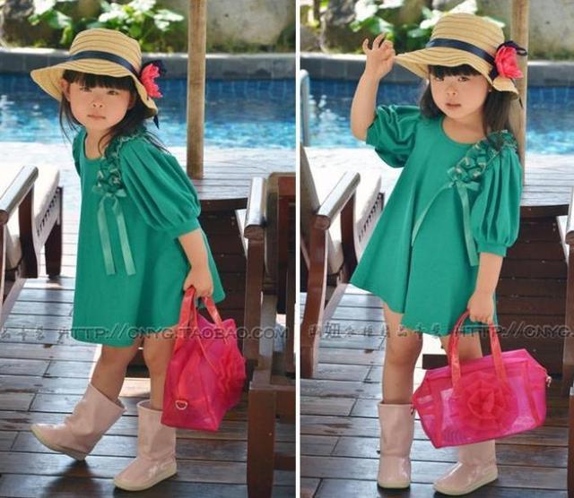 1e88641c3e7 New stylish casual girl dress/Summer hot selling girl frock/2016 latest  fashion design