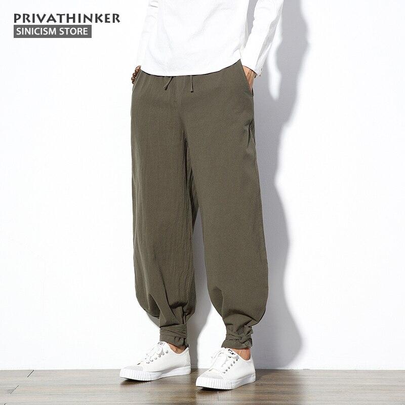 Sinicism obchod 5xl bavlna povlečení harem kalhoty pánské jogger ... 8903bcf8d3