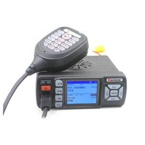 Image 4 - BAOJIE מכשיר קשר BJ 318 25W Dual Band 136 174 & 400 490MHz רכב FM רדיו BJ318 (שדרוג גרסה של BJ 218)