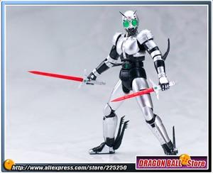 "Image 5 - Japan Kamen ""Masked Rider Black"" Original BANDAI Tamashii Nations SHF/ S.H.Figuarts Toy Action Figure   Shadow Moon V2.0"