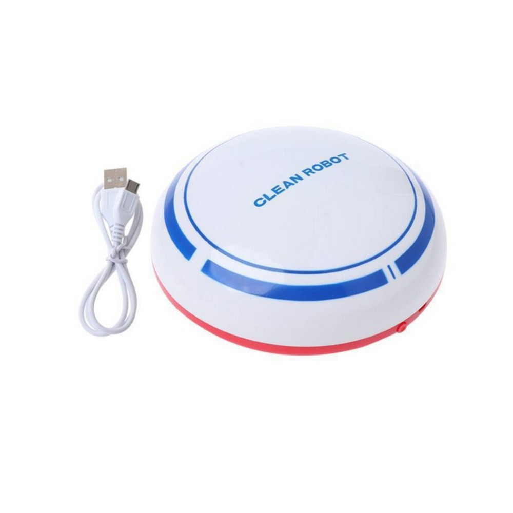 Automatic Rechargeable Cleaning Robot Smart Sweeping Robot Vacuum Floor Dirt Dust Hair Cleaner Home Sweeping Machine cen546 110 220v mini robot vacuum cleaner for home automatic sweeping dust sterilize smart planned mobile app 0 3l dust box
