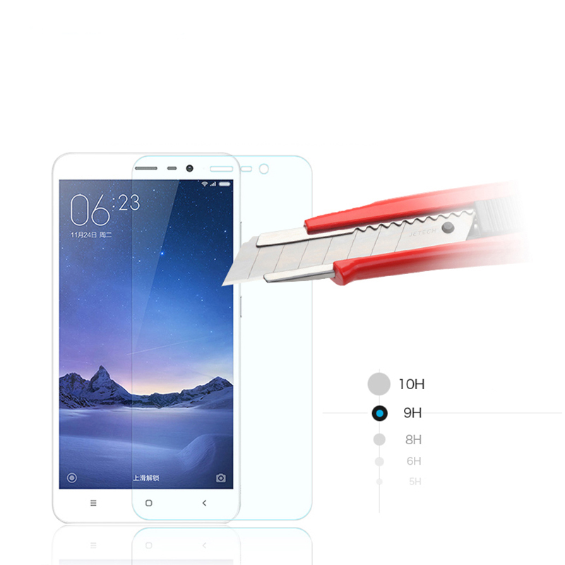 9H 2.5D Screen Protector For Xiaomi Redmi Note 3 2 4 Pro Prime Mi 3 4 s 4c 4i 5 Tempered Glass Phone Case Protective Cover Film