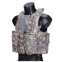 Hot Sale Tactical Vest Nylon Vests Durable USMC Airsoft Vests Military Gear Molle Combat Assault Tactical Hunting Plate Carrier