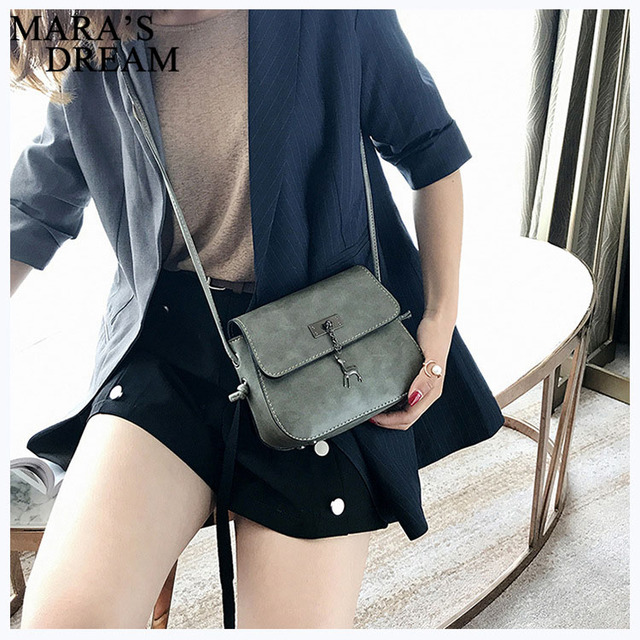 Mara's Dream Shell Women Messenger Bags High Quality Cross Body Bag PU Leather Mini Female Shoulder Bag Handbags Bolsas Feminina