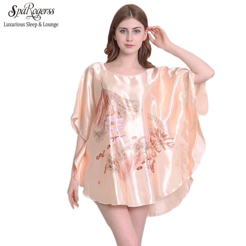 SpaRogerss Women Sleepshirt New Pattern Brand 2018 Fashion Lady ...