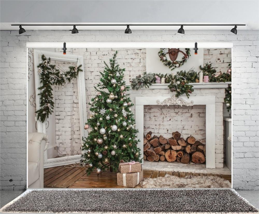 Arbre Bois Blanc Decoration algomasque2blog: vente laeacco gris brique mur arbre de noël